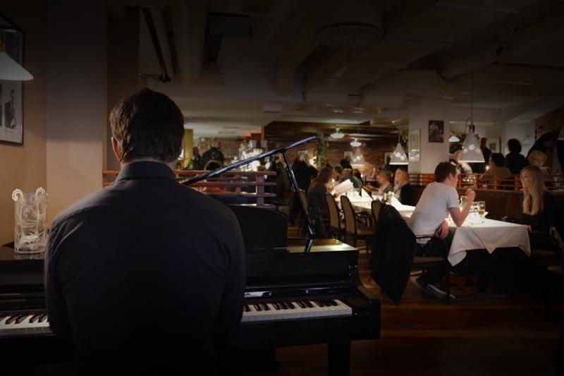 Pianobaaritunnelmaa joka pe-la klo 17-21